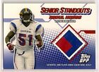 2006 ABDUL HODGE TOPPS DPP *SENIOR STANDOUT* ROOKIE JERSEY IOWA HAWKEYES PACKERS
