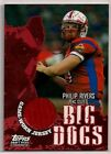2004 PHILIP RIVERS TOPPS BD ROOKIE JERSEY SAN DIEGO CHARGERS NC STATE WOLFPACK