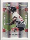2008 CURTIS LOFTON SELECT ROOKIE AUTO #d/750 OKLAHOMA SOONERS NEW ORLEANS SAINTS