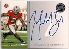 09 MALCOLM JENKINS PRESS ROOKIE AUTO /199 OHIO STATE BUCKEYES NEW ORLEANS SAINTS
