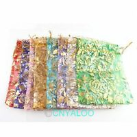 30pcs Wedding Organza Pouches Gift Bags Jewellery Packaging  FREE SHIPPING