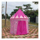 Pink PLay House Kids Child Children Pop Up Tent Princess Castle Palace Toys Gift