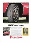 Firestone Tire Ad from Playboy Magazine- Early 1970's