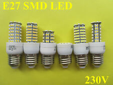 E27 24/48/72/96/120/138 SMD LED Lampe Licht Strahler Birne warmweiss/weiss 230V