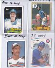 1989 Topps Randy Johnson RC Gradeable if it grades less then a 9 Full Refund