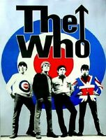 The Who pop art  Oil Painting 28x16, NOT a print or poster.Framing Available.