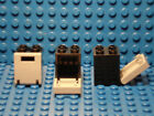 LEGOS - Set of 3 NEW Black Boxes Containers 2X2X2 with LBG Doors Harry Potter