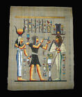 Egyptian Papyrus genuine hand painted Medcali 43x33cm