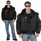 Black N-2B Cold Weather Flight Jacket Coat