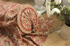 Antique French Art and Crafts fabric daybed day bed / Chaise lounge cover trim