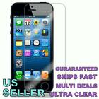 iPHONE 5 SUPER CLEAR SCREEN PROTECTOR COVER - AT&T, VERIZON, SPRINT