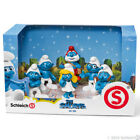 *NEW* SCHLEICH 41260 Smurf Movie Set - 6 pieces - Scenery Pack Smurfs Smurfette