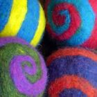 Spiderfelt Felted Felt Spiral Ball Felting Kit w/ Roving Needles Foam CHOOSE