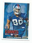 2010 TOPPS NEW YORK GIANTS TEAM SETS (14 cards/set) JASON PIERRE-PAUL RC