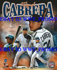 Miguel Cabrera Triple Crown Detroit Tigers MLB LICENSED 8X10 Baseball PHOTO