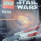 Lego 6205 V Wing Fighter Includes Minifig And Instructions