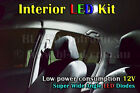 Holden Commodore VE Calais Sedan Interior LED Light White Blue Red Green Pink UV
