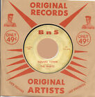 Rockabilly: THE DARTS-Square Town/Rocking BNS - REPRO-Vocal w Savege Instro Flip