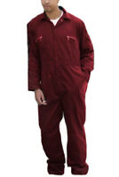 BOILERSUIT / COVERALL - Concealed two way zip  - Tall & Regular - REDUCED - BS54