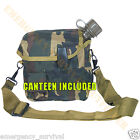 2 Qt Two Quart Bladder Canteen & Cover ALICE Pouch - WOODLAND CAMOUFLAGE