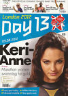 * OLYMPIC GAMES DAY 13 PROGRAMME LONDON 2012 *