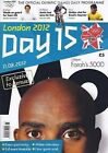 * OLYMPIC GAMES DAY 15 PROGRAMME LONDON 2012 *