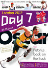 * PARALYMPIC GAMES DAY 7 PROGRAMME LONDON 2012 (OSCAR PISTORIUS) *