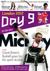 * PARALYMPIC GAMES DAY 9 PROGRAMME LONDON 2012 *