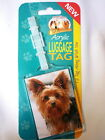YORKSHIRE TERRIER LUGGAGE TAG.