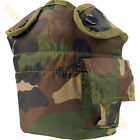 Woodland Camouflage Camo ALICE 1 One Quart Qt Canteen Cover