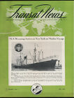 May 1949 Transat News Magazine - MS Wyoming Maiden Voyage - French Line - CGT