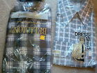 NWT New Vintage Flannel and Dress Shirt Lot of 2 Montgomery Ward Sz s small Med