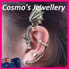New Vintage Drangon Wrap Ear Cuff Clip on Gothic Earring Non Piercing JW323 GIFT