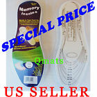 1 Pair Remedy Memory Foam Insoles One Size Fits Most Pads Support WHOLESALE