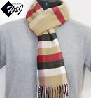 Men's Women's Checkered Cashmere Feel Scarf/Camel Red Black White*100%Acrylic