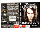 lot 33..DVD..RUSSELL BRAND..DOING LIFE LIVE..COMEDY