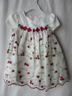 Bonnie Baby Formal 2pc Dress/ Flower Stitching for girls size 24 months G82017