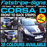 VAUXHALL CORSA VIPER SXI SRI CAR GRAPHICS STRIPES DECALS STICKERS B C D 1.2 1.4