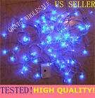 1 SET X 10M LED Christmas Wedding Light Wire String 8 FUNCTION PARTY BLUE COLOR