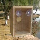 Window Mount Nest View Wild Bird House Research See Baby Birds / Meaningful Gift