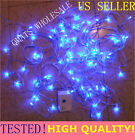 3 SET x 30FT White LED Christmas Fairy Lights Wedding Wire String 8 Mode PARTY