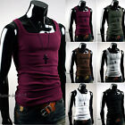 Chic Mens Sexy Undershirts Sleeveless T-Shirt Vest Underclothes Tank Tops Shirts