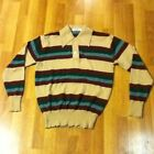 Vintage Polo Long Sleeve Striped Shirt By Madison