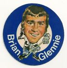 1973-74 Mac's Milk Cloth Sticker Toronto Maple Leafs Brian Glennie