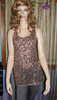 NEW! Intimately FREE PEOPLE Muti-Ribbon Back Sparkling SEQUIN CAMI TOP M L