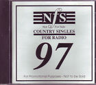 NFS Country Singles For Radio 97 Australian country music promotional CD