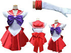 Ladies Costume Fancy Dress Up Cosplay Sailor Moon Gloves Sz 6,8,10,12,14 Red