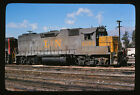 1977 Louisville & Nashville L&N Engine #4084 - Original 35mm Railroad Slide