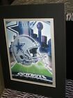 new dallas cowboys nfl 3d matted picture 11 x 14 inch