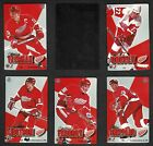 1995-96 Pro Mag Detroit Red Wings Team Set - Scarce!